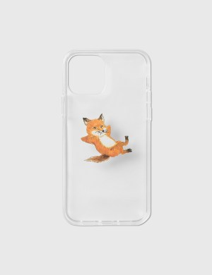 Maison Kitsune Native Union X Maison Kitsune Chillax Fox Transparent iPhone 12/ 12 Pro Case
