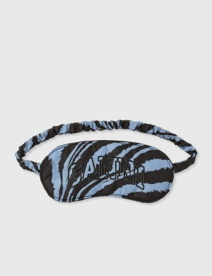 Ganni Recycled Tech Fabric Eye Mask