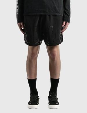 Rhude Oversized Logo Shorts