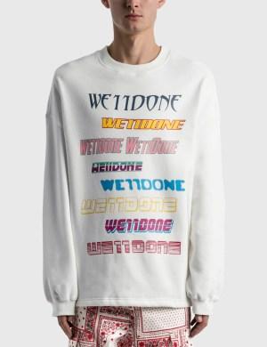 We11done Front Logo Sweatshirt