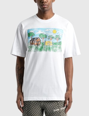 Chinatown Market Smiley Kid Drawing T-Shirt