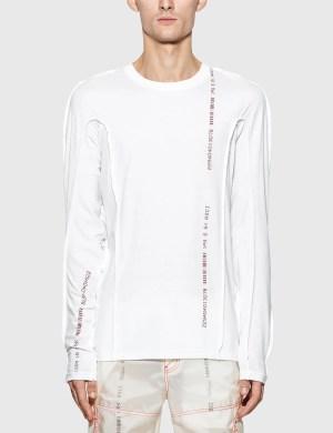 KANGHYUK Cotton Reversible Long Sleeve T-Shirt
