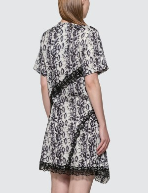 KOCH Python Print Panel Dress