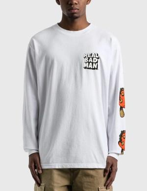 Real Bad Man So Far Out Long Sleeve T-Shirt