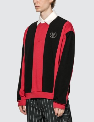 Alexander Wang Heavy Jersey Rugby Polo Shirt