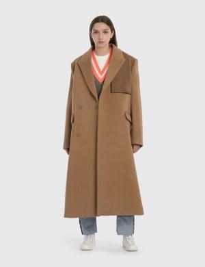Ader Error Oversized Wool Double Coat