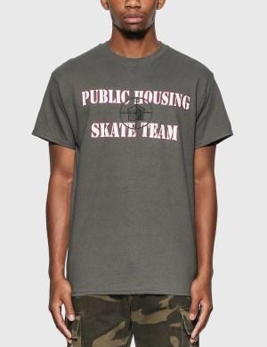 Public Housing Skate Team Logo T-Shirt