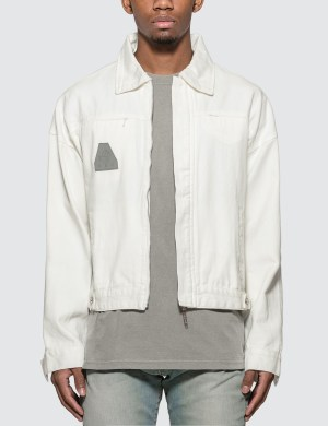 GEO Globe Denim Jacket
