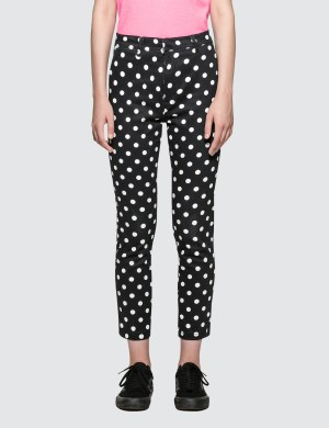 X-Girl Checked Printed Trousers