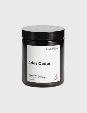 Earl Of East Atlas Cedar Soy Wax Candle 170ml