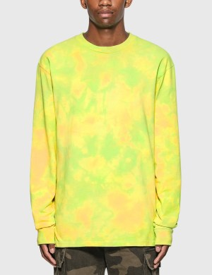 John Elliott Marble Mix Long Sleeve University T-Shirt