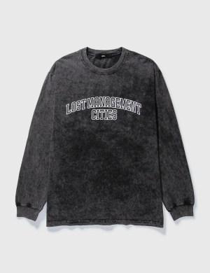 LMC LMC Acid Washed Arch FN Long Sleeve T-shirt