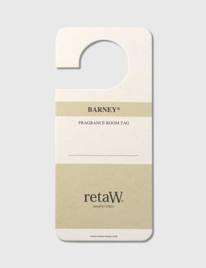 Retaw BARNEY* Fragrance Room Tag