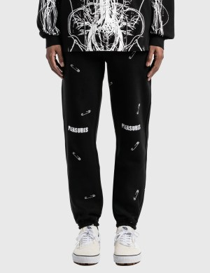 Pleasures Safety Embroidered Sweat Pants