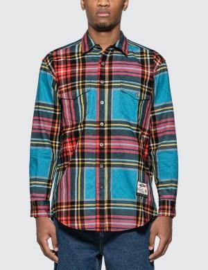 Just Don Islanders Plaid Shirt