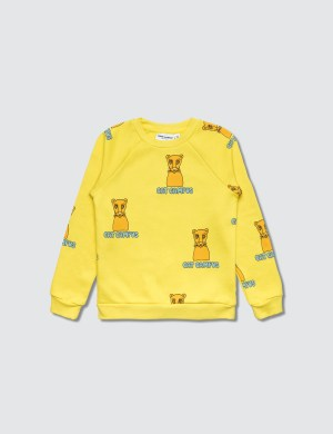 Mini Rodini Cat Campus Sweatshirt