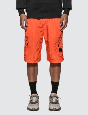 CP Company Chrome Lens Pocket Shorts