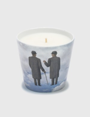 Ligne Blanche Rene Magritte's The Infinite Recognition Candle