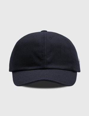 Maison Kitsune Tricolor Fox Patch Cap