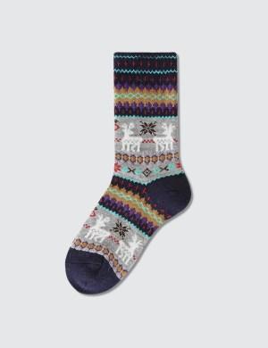 Tabio Kids Reindeer Pattern Socks