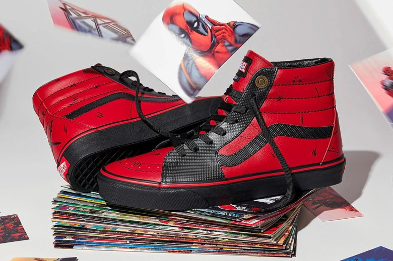 marvel x vans 2018 collection sk8 hi