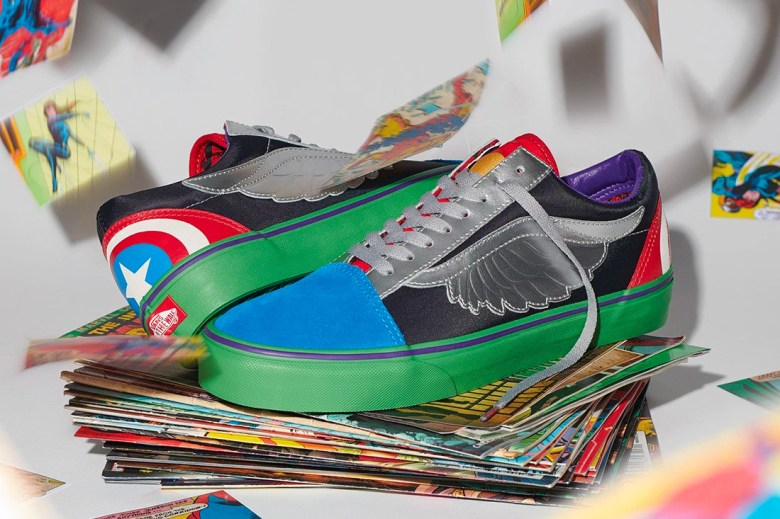 marvel x vans 2018 collection sk8 hi classic