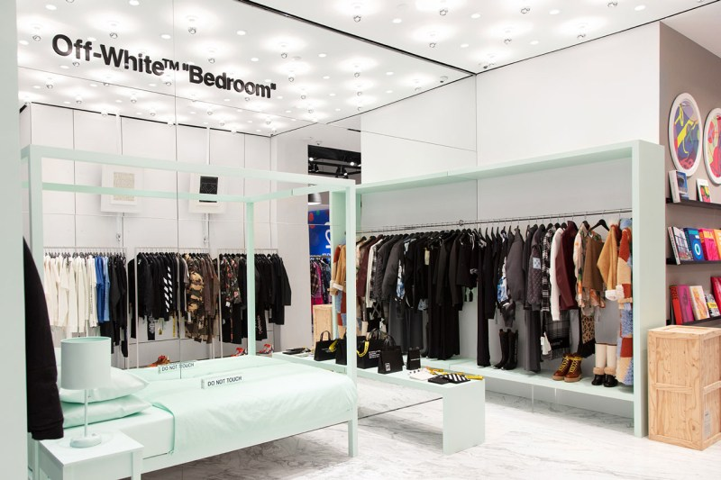 "Off-White™ X Hirshleifers ""Bedroom"" Shop-In-Shop"