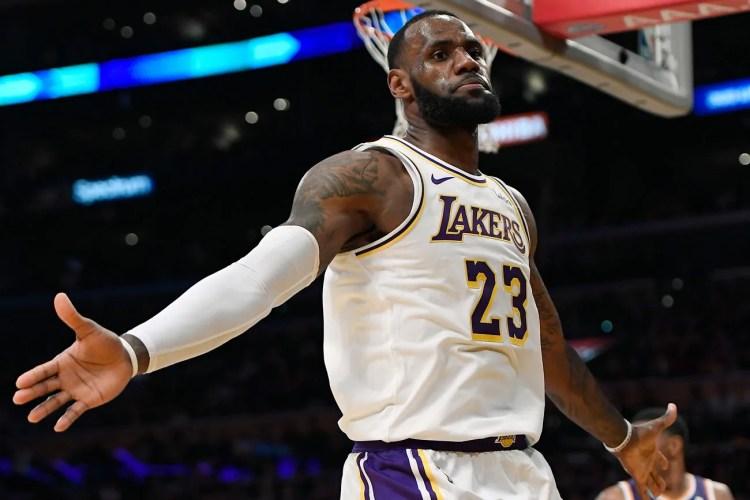 cei mai influenți sportivi LeBron James