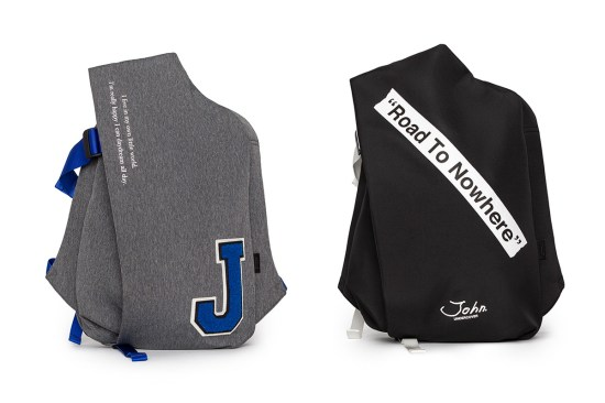 947c264eb3 côte&ciel teams with UNDERCOVER diffusion label JohnUNDERCOVER to create  the academic bags for the Japanese brand's Spring/Summer 2019 collection.