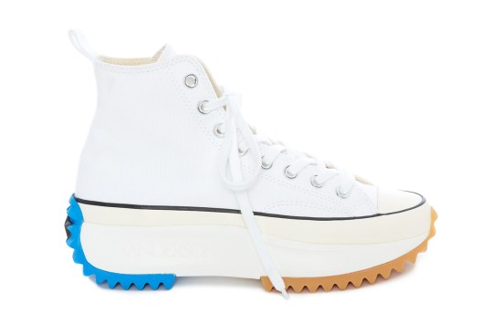 3a49dcd0a8 ... JW Anderson and Converse have now given an up-close look at their Run  Star Hike sneaker in white. The Spring/Summer 2019 collaborative shoe ...