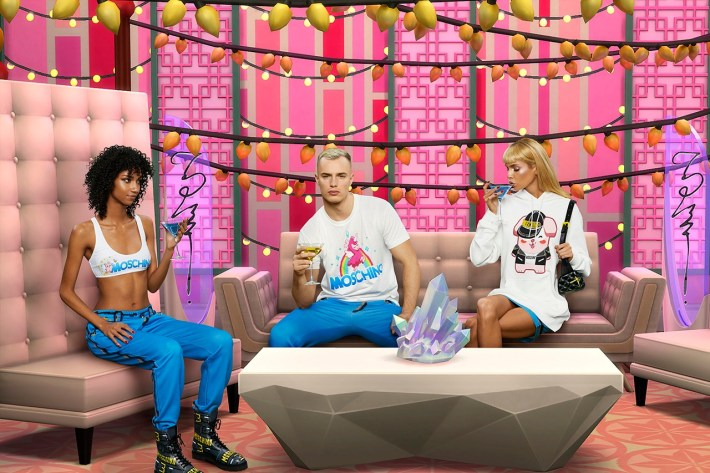 'The Sims' and Moschino Unveil Spring/Summer 2019 Capsule Collection-ის სურათის შედეგი