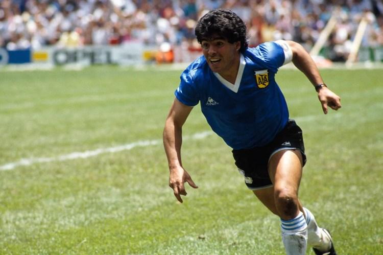 cei mai influenți sportivi Diego Maradona