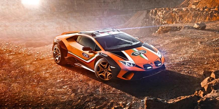 "Lamborghini Unveils Rally-Style Huracán ""Sterrato"" | HYPEBEAST"