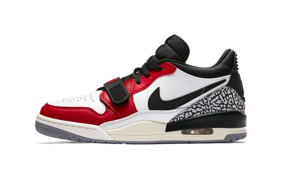 """b84025bd Nike Gives Its Air Jordan Legacy 312 Low a """"Summit White/Varsity Red""""  Update Site Link"""