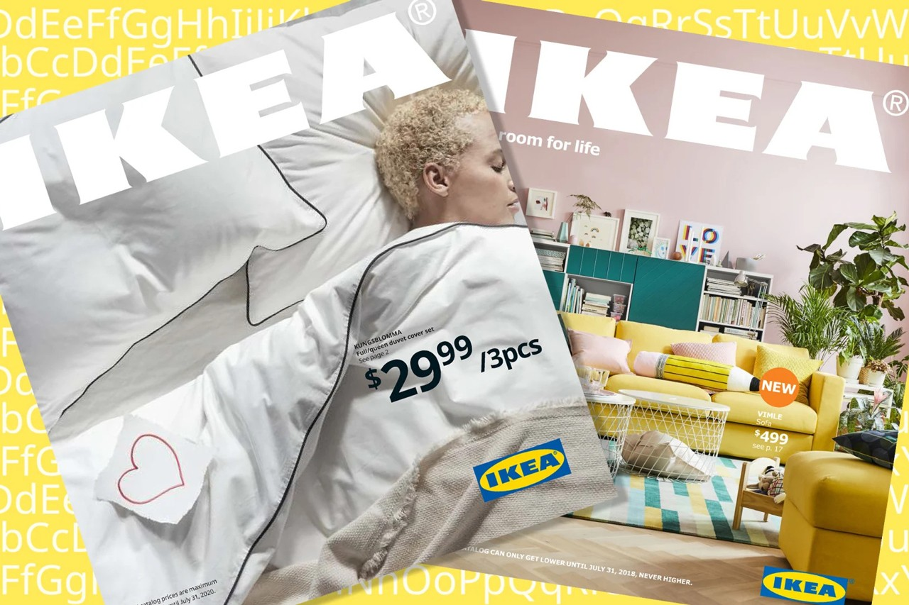 Ikeas Soffa Sans Typeface Created With Couches Hypebeast