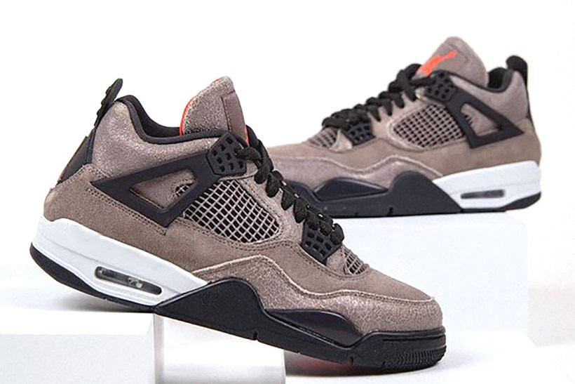 air jordan 4 taupe haze first look photos release info date jordan brand taupe oil grey white infrared