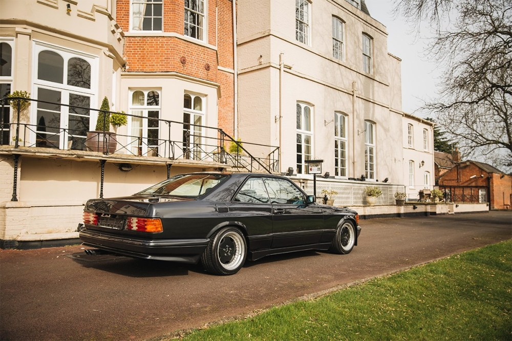 bonhams auctions automotive cars 1989 mercedes benz 560 sec amg wide body rare 6 0 vintage cars