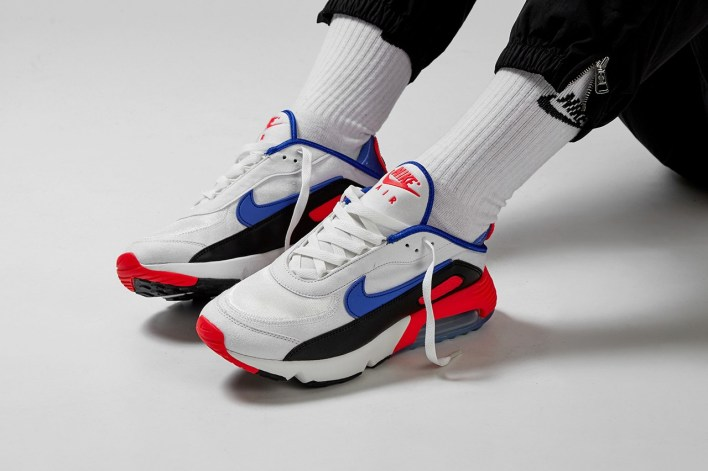 nike air max 2090 eoi closer look release information bright crimson racer blue summit white details buy cop purchase