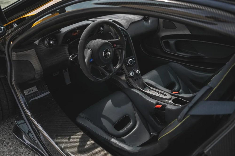 "McLaren P1 2013 First Unit Model Edition Rare Hybrid Hypercar V8 1 of 375 ""Volcano Yellow"" For Sale Silverstone Auctions Ferrari LaFerrari Porsche 918 Holy Trinity Trio"