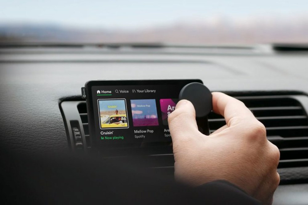 Spotify Launches Its First Streaming Device Called 'Car Thing' music podcasts