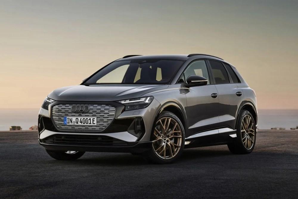 audi q4 e tron electric car vehicle suv sportback trim model variant global unveiling release motor