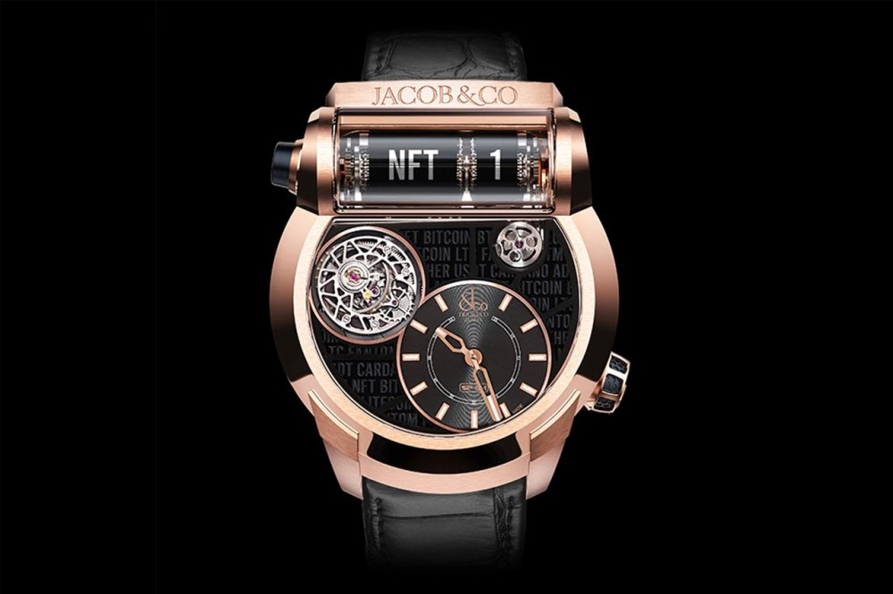 Jacob and Co First NFT Watch accessories accessory watches SF24 Tourbillon accessories digital currency info