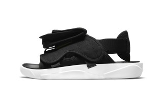 Jordan LS Slide 'Black / White'