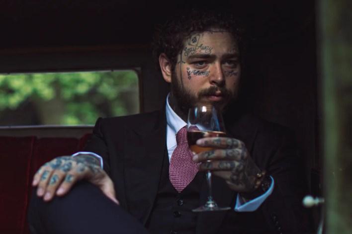 Post Malone Maison No 9 Bottle Merchandise wine french rose bottle artist singer rapper hip hop info