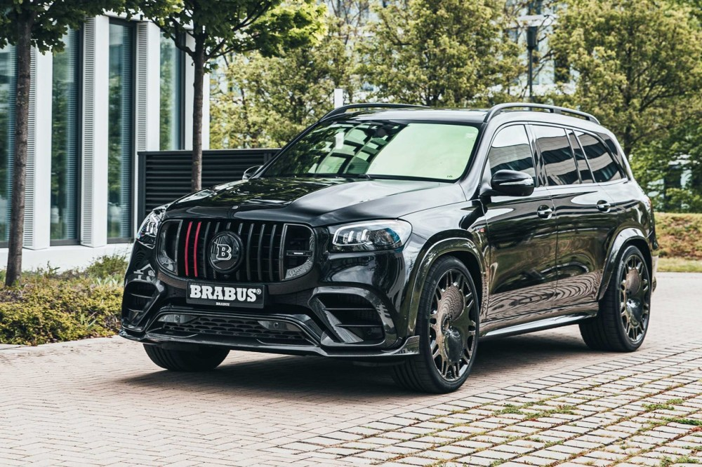 Brabus 800 Mercedes-AMG GLS 63 S 4MATIC + GLE 63S SUVs Tuned Power 800BHP 1000Nm Torque Speed Performance German Limited Edition Rare Hypercar Super Car Custom Wide Body Kit Carbon Fiber Extreme