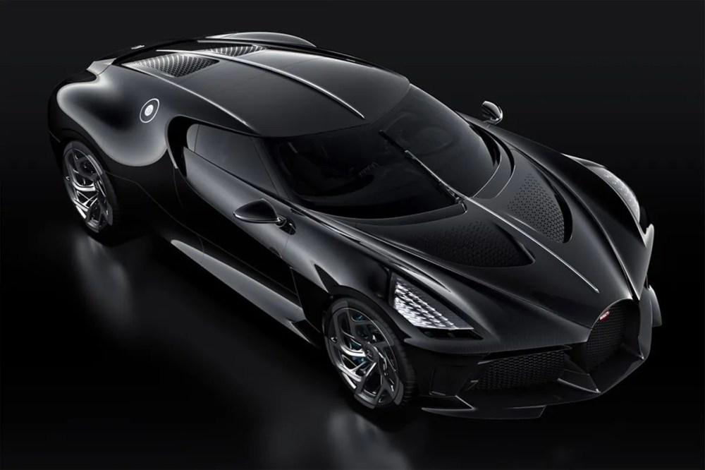 "The $18 Million USD Bugatti ""La Voiture Noire"" Is Finally Here Most Expensive automotive supercar high performance 2019 Geneva Motor Show hypercar"