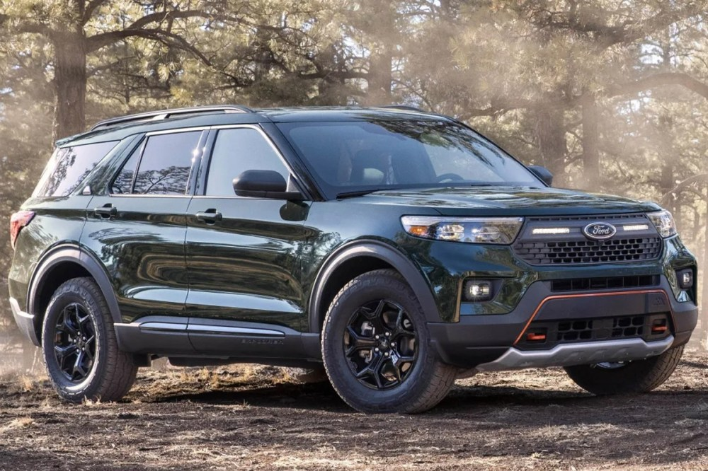 2021 ford explorer timberline off road terrain suv performance edition