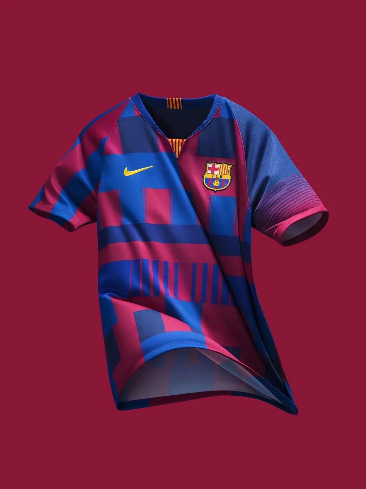 Maillot Anniversaire Nike x Barça