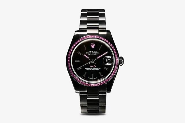MAD Paris 打造 Rolex Datejust 31 藍寶石定製腕錶