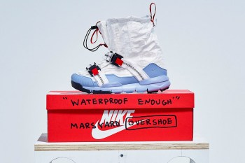 new style 8ded9 95589 A Detailed Look at Tom Sachs x Nikes Mars Yard Overshoe